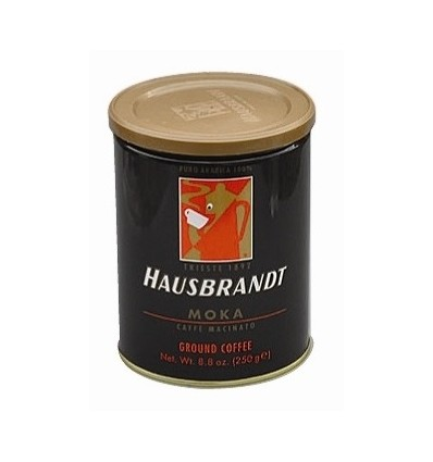 Mletá káva Hausbrandt Espresso 250g, dóza