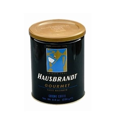 Mletá káva Hausbrandt Gourmet 250g, dóza