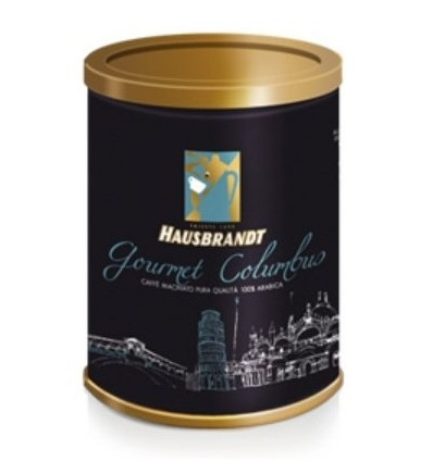 Mletá káva Hausbrandt Gourmet Columbus 250g, dóza