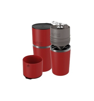 Kávovar Cafflano Klassic červený
