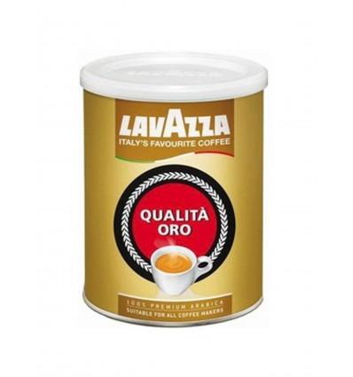 Mletá káva Lavazza Qualita Oro 250 g, dóza