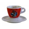 Mami's caffé šálek na espresso - červený