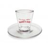 Mami's caffé sklenice na kávu s podšálkem