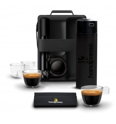 Handpresso Outdoor SET Hybrid Black