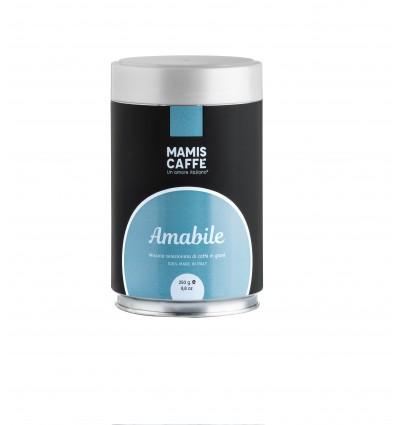 Mletá káva Mami's Caffé Amabile 250g, dóza