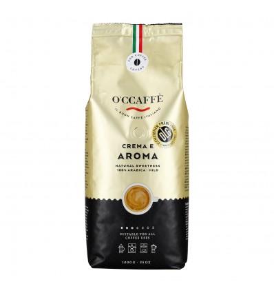 Zrnková káva O'ccaffé Crema e Aroma 100% Arabica
