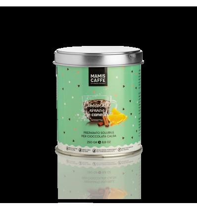 Mami's Caffé Choco pomeranč a skořice, 250 g dóza