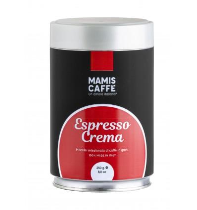 Zrnková káva Mami's Caffé Espresso Crema 250g, dóza
