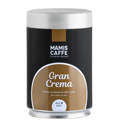 Mletá káva Mami's Caffé Gran Crema 250g, dóza