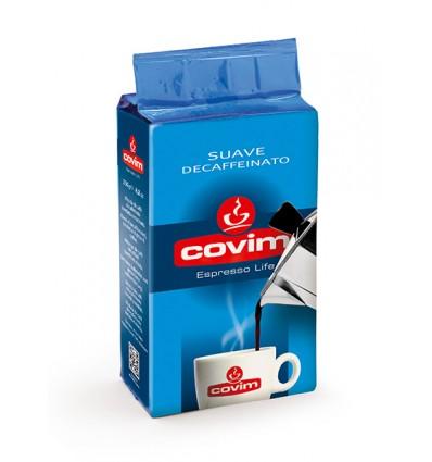 Mletá káva Covim Suave bezkofeinová 250 g