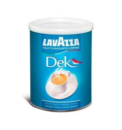 Mletá káva Lavazza bezkofeinová 250 g, dóza