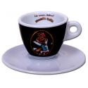 Mami's caffé šálek na cappuccino - černý