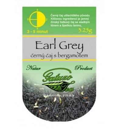 Čaj Gatuzo Earl Grey 50 porcí