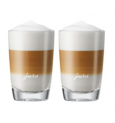 Jura Latte Macchiato skleničky (105 mm) 2 ks