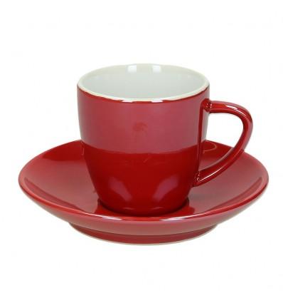 Tognana Colortek šálek na espresso 6 ks - červený