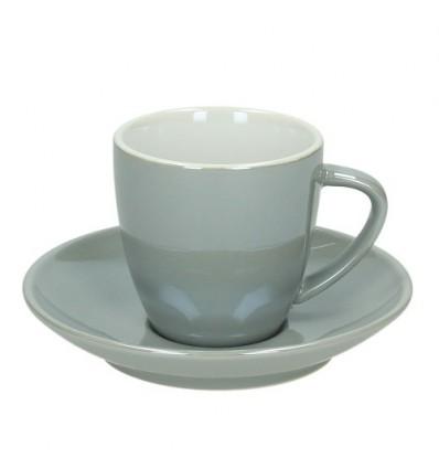 Tognana Colortek šálek na espresso 6 ks - šedý