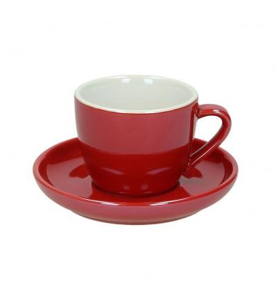 Tognana Colortek šálek na cappuccino 6 ks - červený