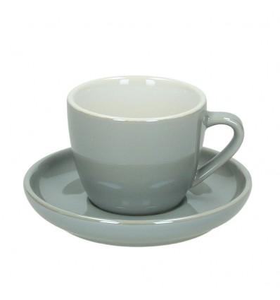 Tognana Colortek šálek na cappuccino 6 ks - šedý