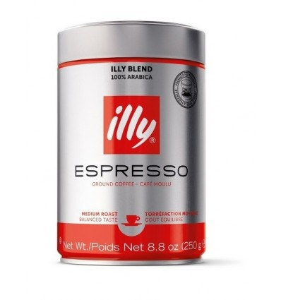 Mletá káva Illy 250 g