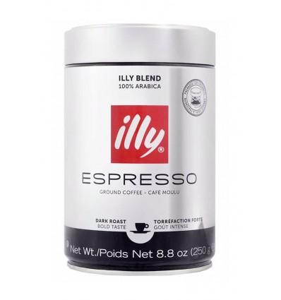 Mletá káva Illy Dark 250 g